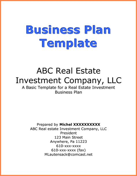 9 business plan title page exle bussines proposal 2017