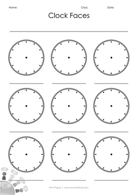 blank time worksheets blank clock faces by leannegwilliam teaching resources tes