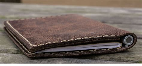 leather field notes cover galen leather handmade leather goods