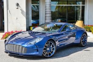 Aston Martin One 77 Eye Cobalt Blue Aston Martin One 77