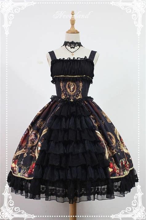libro night magic gothic magic night museum jsk dress with front open design jumper jsk