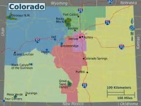 colorado regions map mapsof net