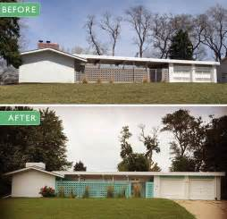 Mid Century Modern Ranch Paint Colors On Her Midcentury Modern Ranch House Retro Renovation