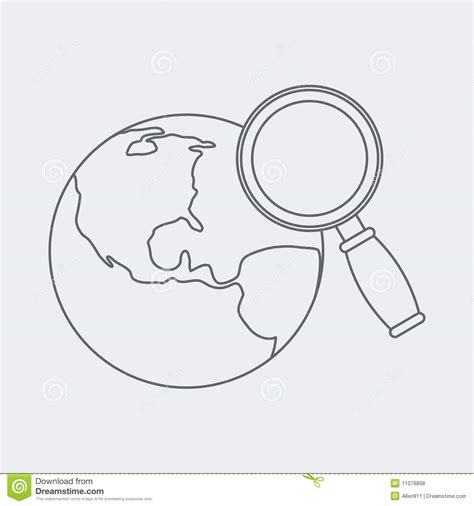 Free Worldwide Search Worldwide Web Search Sketch Royalty Free Stock Photos Image 11078808