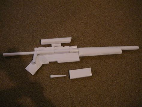 Make Paper Gun - paper gun sniper rifle all