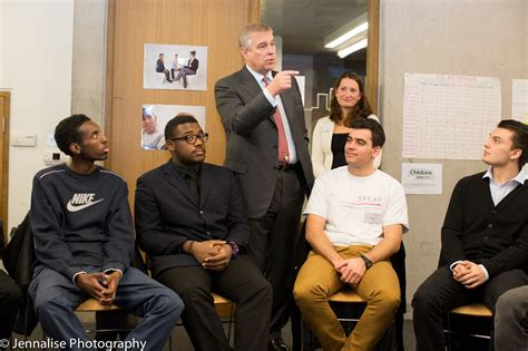 tom jackson spear visit to resurgo trust the duke of york
