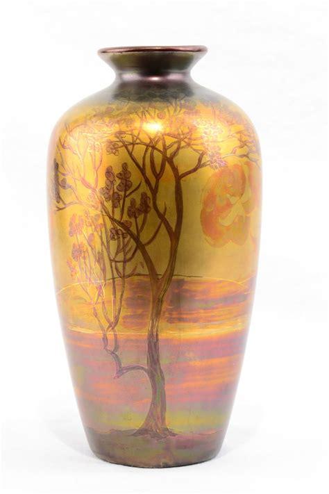Weller Vase Prices by 1920 25 Weller Lasa Vase 525 00 The Fortune