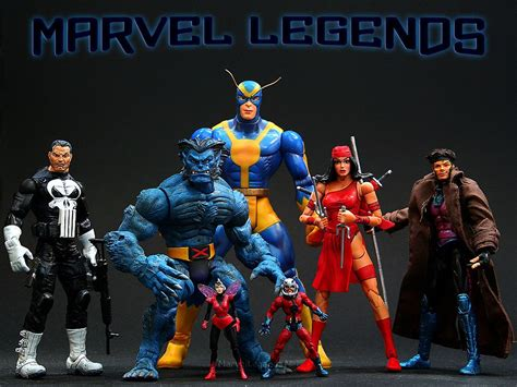 figuras y cromos marvel legends