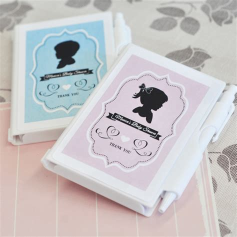 Notebook Giveaways - vintage baby personalized notebook favors personalized baby shower favors baby