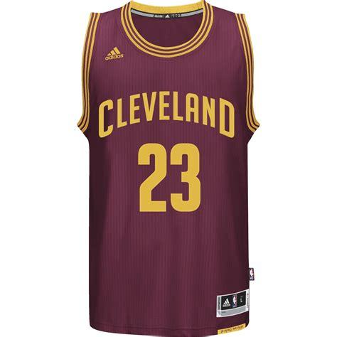 Jersey Basket Nba Cleveland Cavaliers Cavs Lebron Merah Maroon adidas swingman jersey lebron cleveland cavaliers nba a61199 basketball clothing nba