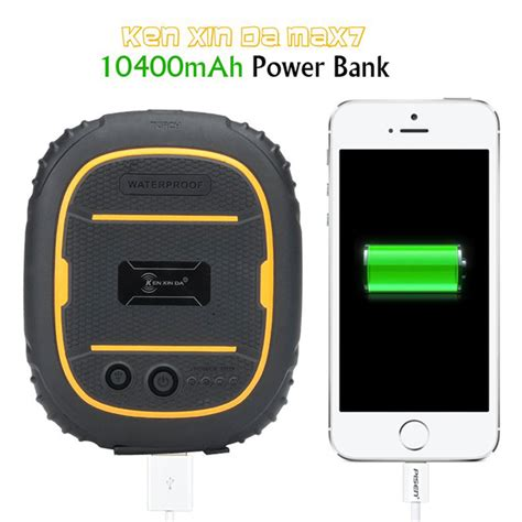 Ken Max7 Powerbank ken xin da 10400mah ip68 rugged power bank