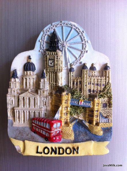 Magnet Kulkas Negara Big Ben Inggris souvernir travelling