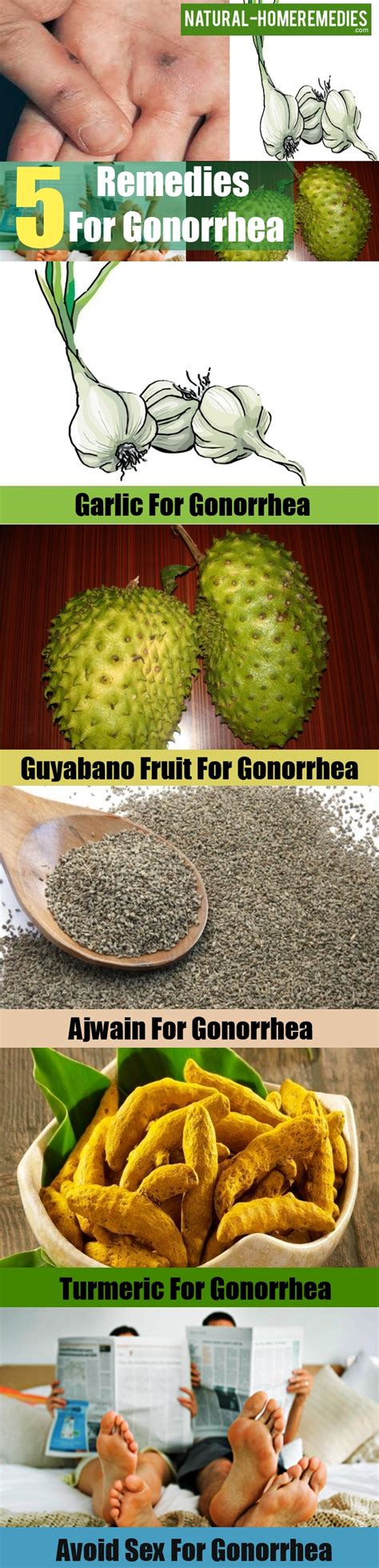 5 home remedies for gonorrhea treatment for