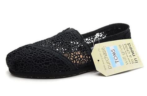 toms shoes outlet toms womens crochet shoes black toms062 26 00 toms
