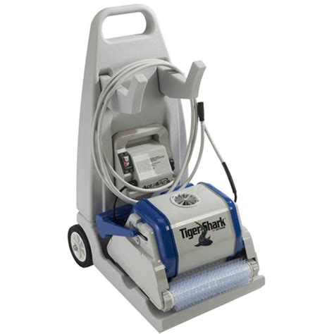 shark upholstery cleaner hayward tiger shark robotic pool cleaner with cart