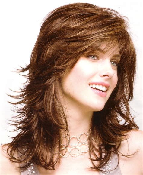 picture of long layered gypsy cut style hairstyles for layered hair at medium length short