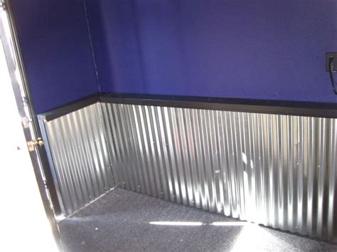 corrugated tin wainscoting pin by connie timms on bath time