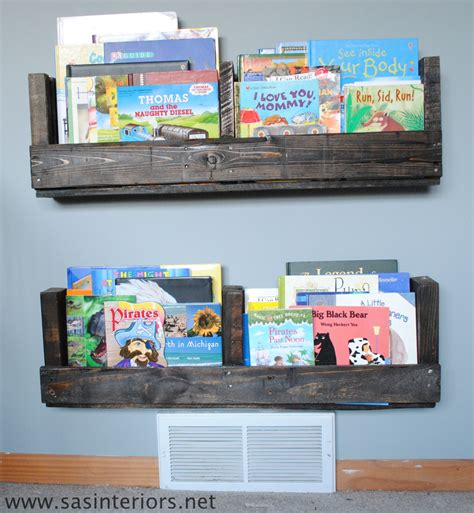 how to make a pallet shelf diy shelf home stories a to z