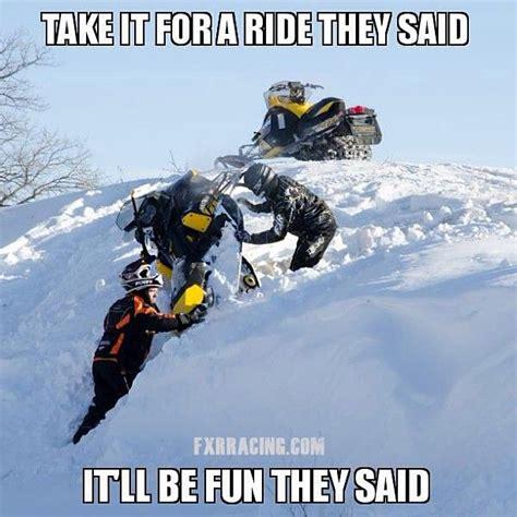 Snowmobile Memes - fxr racing meme boats quads sleds fun pinterest