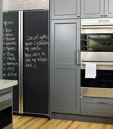 chalk paint you can write on how to make a chalkboard fridge tips tricks ideas