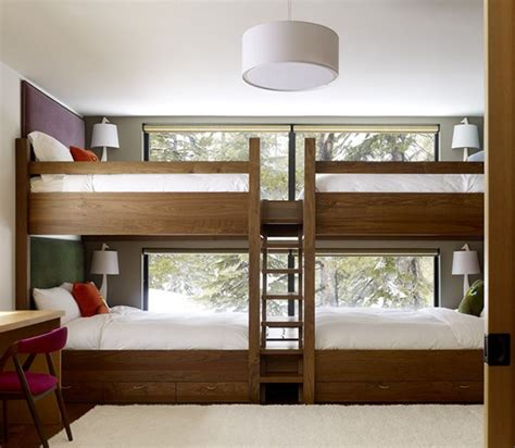 4 Bed Bunk Beds Cool Bunk Beds Home Decorating Excellence