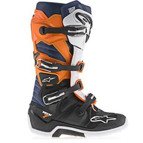 motocross boots australia alpinestars 2017 tech 7 motocross boots black orange