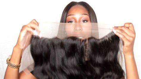 aliexpress indian wave lace frontal virgo hair