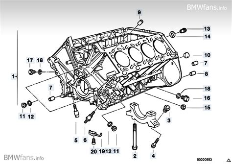 supplement 3 to part 740 engine block bmw 7 e38 740il m62 europe