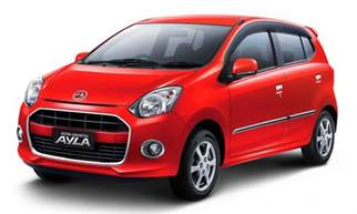 Daihatsu Alya Daihatsu Ayla Hatch 2016 Generation Indonesia