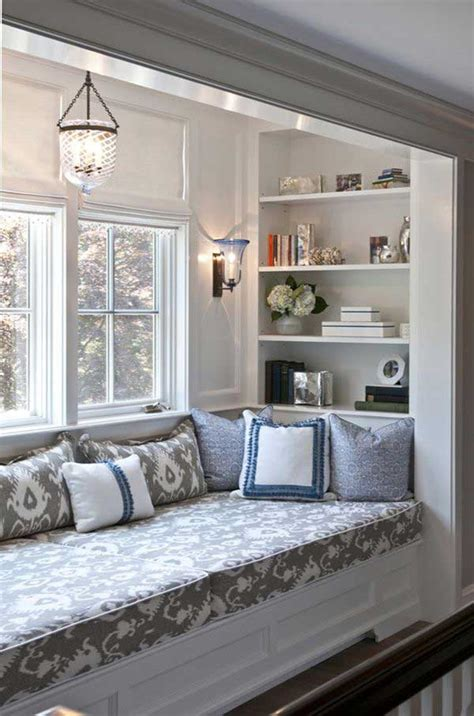 Window Reading Nook | 39 incredibly cozy and inspiring window nooks for reading