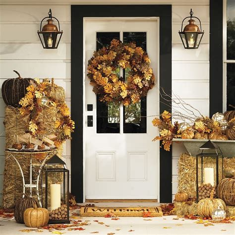 a bit of bees knees fall decor from pottery barn