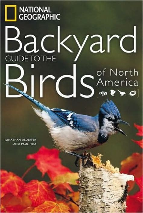 backyard of america the birdchaser ngs guide to the backyard birds of north