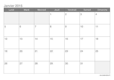 Calendrier Janvier 2015 Calendrier Janvier 2015 224 Imprimer Icalendrier