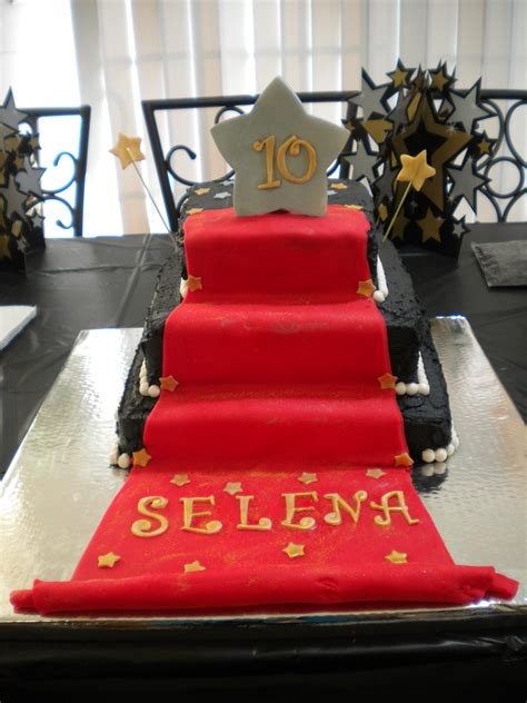 red carpet themed birthday party red carpet cake 3 tiered red carpet cake for my niece s