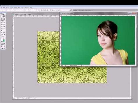 adobe photoshop chroma key tutorial chroma key tutorial for photos youtube