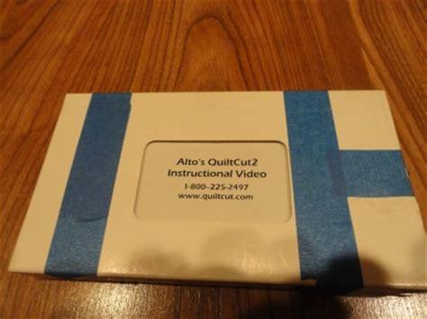 nib alto s quilt cut 2 fabric cutting system mat in orig