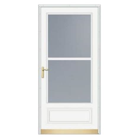 home depot front screen doors home depot emco 200 series 36 inch white traditional