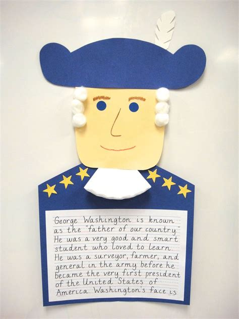 george washington crafts for 1000 images about george washington project on