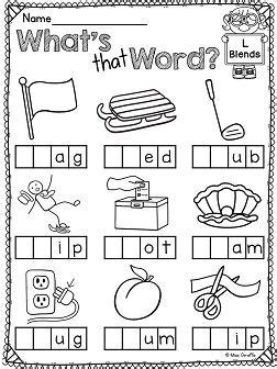 L Blends Coloring Pages by L Blends Worksheets And Activities Educational Finds