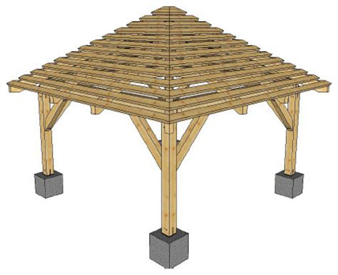 Hip Roof Pergola pergolas hip roof pergola rustic ta by connecticut post and beam