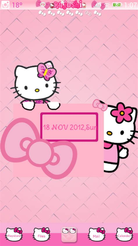 uccw hello kitty themes pretty droid themes hello kitty uccw skin