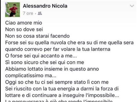 lettere al figlio la lettera al figlio morto quot ciao mio quot live sicilia