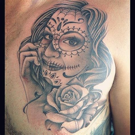 la muerte portrait tofino b c sweet siren tattoo in