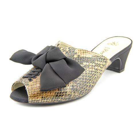 j renee shoes j renee sarika textile dress sandals shoes ebay