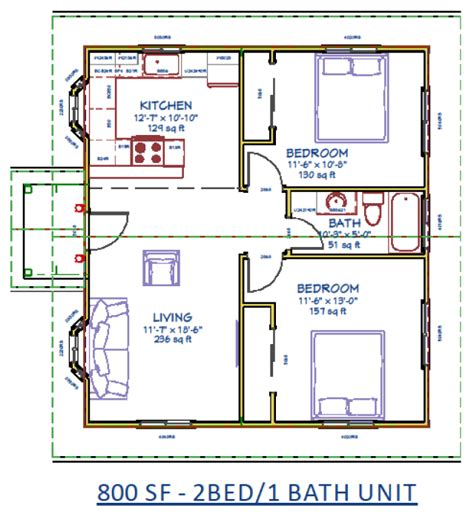 accessory dwelling unit floor plans mibhouse