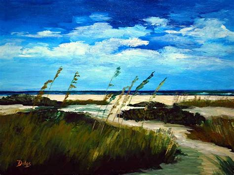 landscape paintings  jacksonville florida artist keith doles