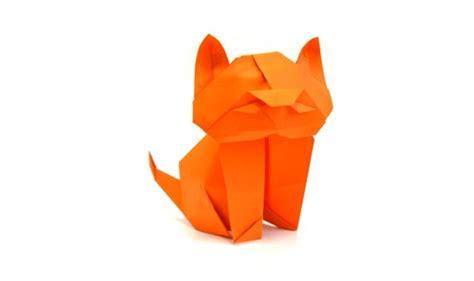 Origami Kitten - composite origami archives origami