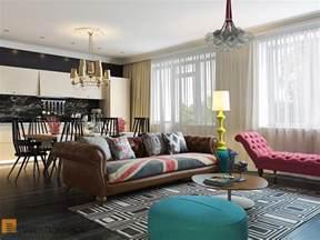 Interior Desinging Bright And Cheerful Interior Design By Pavel Polinov