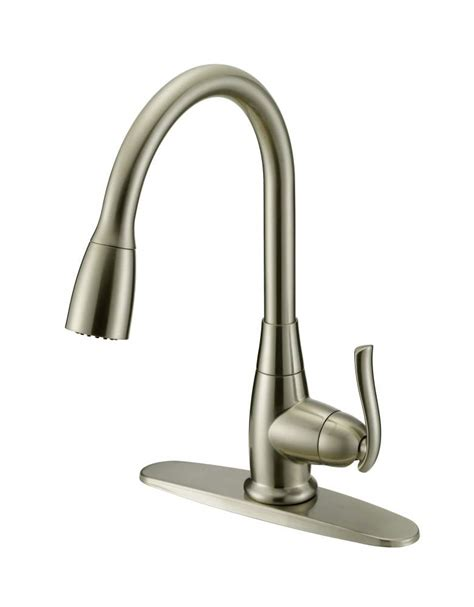 stainless faucets kitchen flo faucets fp4a0000np 1 handle stainless steel