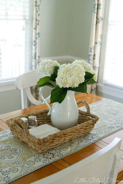 kitchen table centerpiece ideas for everyday little bits of home the clean table club pinteres